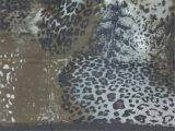 Ggt de seda na cópia do leopardo