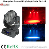 108*3W RGBW LED 이동하는 맨 위 빛
