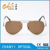 Солнечные очки металла способа цветастые для управлять с поляроидным Lense (3025-C2)