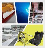 Wopson Farben-Abwasserkanal-Kamera-System mit dem Selbst, der Kamera und 60m Stoss-Draht nivelliert