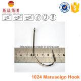 Crochet 1024 à haut carbone de Maruseigo d'acier d'argent/or