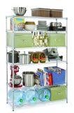Qualitäts-Antirost-Draht-Fach mit Chrom-Ende