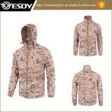 7 hommes tactiques de couleurs imperméabilisent le camouflage mince campant de jupes de sports