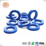 Garniture bleue de joint en caoutchouc de silicones de bon rebond