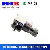 Conector de ángulo recto de TNC para el conector de la tarjeta del PWB