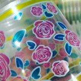 Le type excentré plastique met en forme de tasse la machine d'impression avec le séchage UV (C.C-HG4/6)