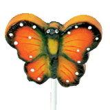 3D 여가 동안 다채로운 나비 훈장 사탕