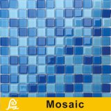 Mosaico de cristal da grama da cor quente da venda 4mm para a série do painel da cor da piscina (cor P01/P02/P03)