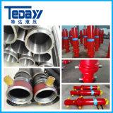 Chinesischer hydraulischer teleskopischer Zylinder von der Berufsfabrik