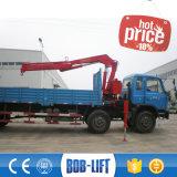 小さい上昇トラッククレーン安い価格の小型積み込みの販売のための油圧トラッククレーン