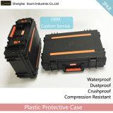 Caixa plástica da caixa militar impermeável do equipamento da deteção da caixa do portátil