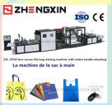 Bolso de compras no tejido conveniente que hace la máquina Zxl-D700
