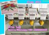 Farben-computergesteuerte Stickerei-Hochgeschwindigkeitsmaschine der heißer Verkäufer-Multifunktions4 Kopf-12 mit Cer-Bescheinigung