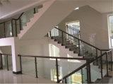 Haohan modificó la barandilla de acero galvanizada australiana europea elegante 10 de la escalera para requisitos particulares