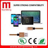 Verkaufendes klassisches Aufladeeinheits-Kabel-umsponnenes Daten USB-Spitzennylonkabel für iPhone5 iPhone6 iPhone7