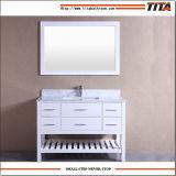 Première vanité moderne de marbre T9223-48W de salle de bains