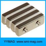 Магнит зенкованный высоким качеством отверстия неодимия N35 N48 N52&Nbsp; Магнит
