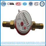 Medidor de agua del cuerpo del latón del solo tipo del jet