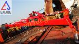 Gru telescopica idraulica elettrica del fante di marina dell'asta