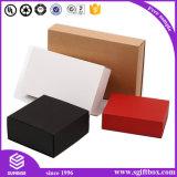 Коробка изготовленный на заказ скольжения бумажной коробки Kraft печати логоса открытая