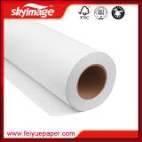 """Papier de transfert thermique sec rapide de sublimation de FW 75GSM 36 """" pour des vêtements avec l'imprimante à jet d'encre"""