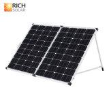 mono silicio 200W plegable el panel solar con la célula solar del corchete ajustable