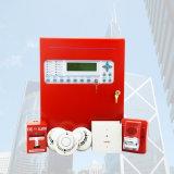 Feuersignal-Systemsteuerung-Panel UL-As0820-10 rote analoge Facp 1/2-Loop W/Enet Netz-Karte
