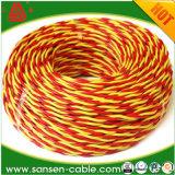 De multi Kleur Vastgelopen Draad en de Kabel van de Kern LSZH van het Koper