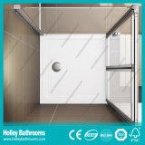 Cerco de dobramento de venda quente do chuveiro com vidro laminado Tempered (SE921C)