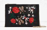 여자의 형식 자수 어깨 핸드백 (BDMC121)