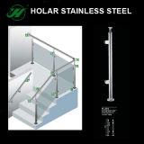 Barandilla de encargo del vidrio del acero inoxidable de la alta calidad del precio competitivo