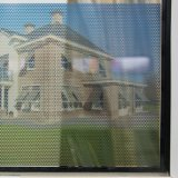 Film bi-directionnel perforé polychrome personnalisé de guichet de visibilité