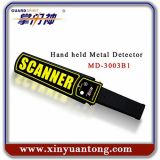 Портативный перезаряжаемые миниый ручной детектор металла блока развертки тела с высокой чувствительностью