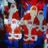 Acryl Old Man Christmas Light