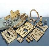 Componentes de molde sin aceite desgaste de la placa de deslizamiento de la placa