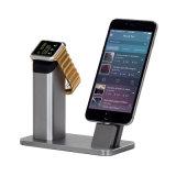 Cargador de carga de aluminio del muelle de las Mutli-Funciones para SE 7 7s 6 6s del iPhone de Iwatch más
