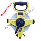 Лента стеклоткани перематывая скорости конструкции Tools/4X/измеряя лента