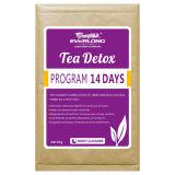茶減量の茶を細くする有機性草の解毒の茶(夜は清潔になる)