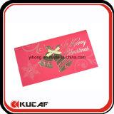 Carte de voeux de estampage assez chaude faite sur commande de Noël d'impression
