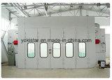 Grande cabine de peinture de pleine largeur du courant descendant 6m