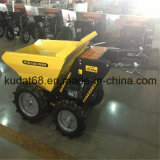 Chain Drive (KD250S)の250kgs 4WD Gasoline Engine Mini Dumper