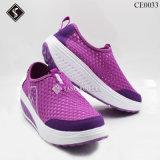 Chaussures plates de marche des sports des femmes confortables,