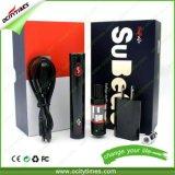 Sigaretta elettronica del kit E del dispositivo d'avviamento di Subego del commercio all'ingrosso della sigaretta di Ocitytimes Evod