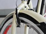 Elektrisches klassisches Kreuzer-Fahrrad mit vorderem und hinterem Licht