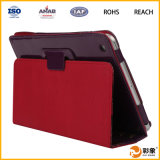 Cassa di cuoio per iPad 123456 Mini Tablet Cover