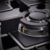 Gas incorporado Cooktop del avellanador del gas de la cocina de gas del diseño elegante
