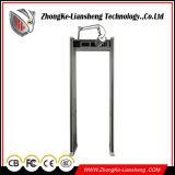 Detección de la seguridad del detector de metales del recorrido