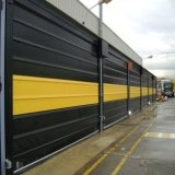 Porta rápida da garagem flexível rápida do elevado desempenho para o quarto desinfetado (HF-J306)