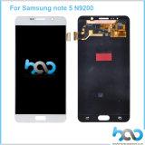 Первоначально новая индикация LCD для замены экрана Samsung Note5 LCD