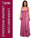 Сексуальные платья коктеила выпускного вечера вечера женщины (L51315-2)
